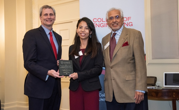 UGA Engineering honors student, faculty, staff achievement